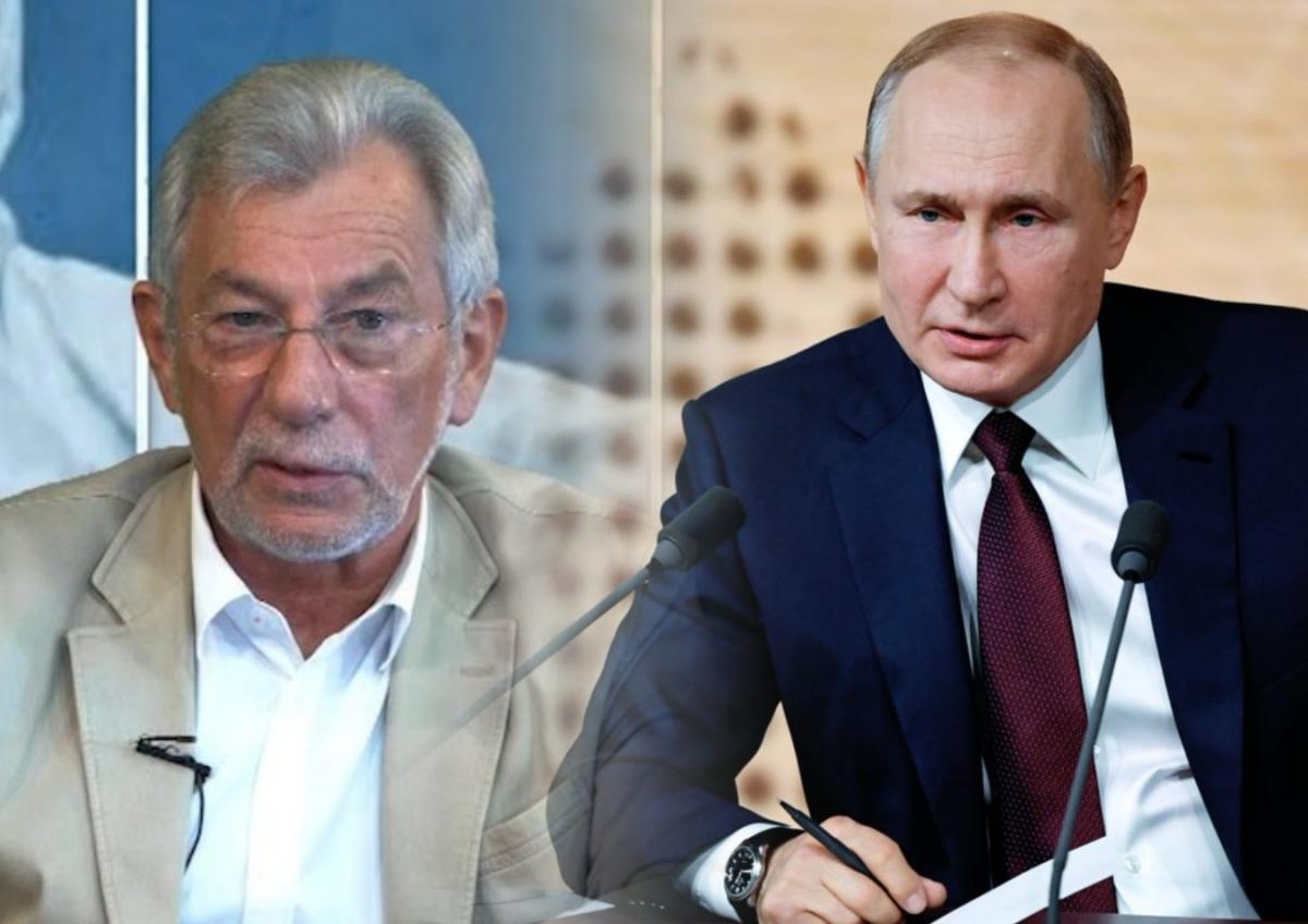 Путин и вирусолог Зверев