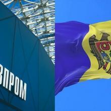 Флаг Молдавии, газпром