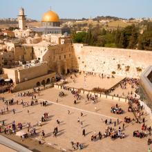 Древнейший город должен стать столицей и святыней трёх мировых религий.