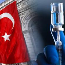 Вакцинация Турция флаг