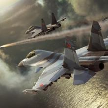 Удар ВКС по боевикам в Сирии