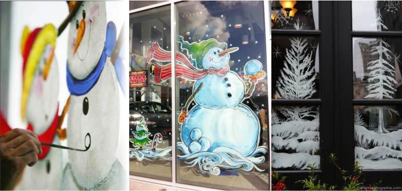 Поделки на Новый год своими руками: украшаем окна к 2019 году